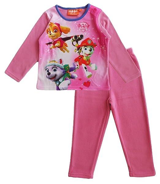 77bf8caebe Paw Patrol Nickelodeon Kids Polar Fleece Pijamas Ropa de Dormir  Amazon.es   Ropa y accesorios