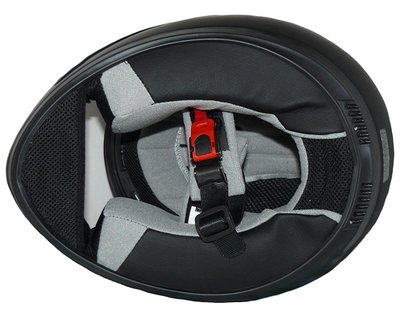protectWEAR Motorradhelm Grau//Wei/ß Integralhelm S Drachendesign