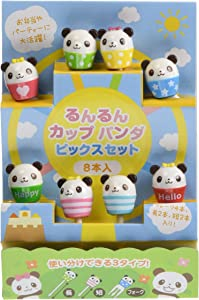 Torune Food Bento Lunch Accessories, Panda Cup Fork Picks, Many Colors