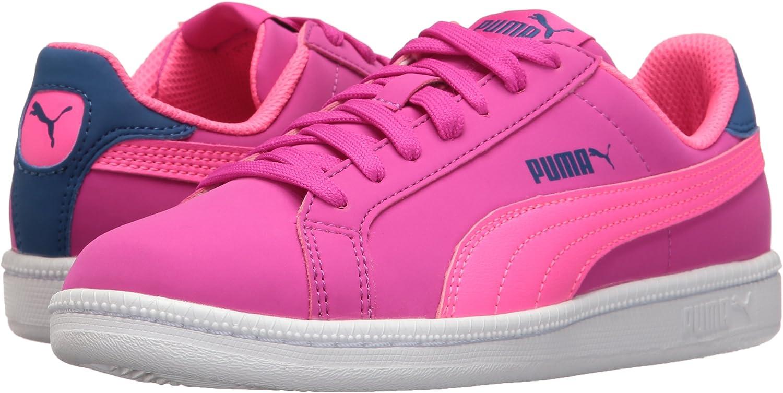 Ultra Magenta-Knockout Pink PUMA Girls Smash Fun Buck Jr Chukka