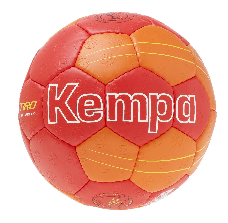 Kempa Tiro Lite Profile Ballon de Handball Rouge/Rouge Vif/Jaune 200187601