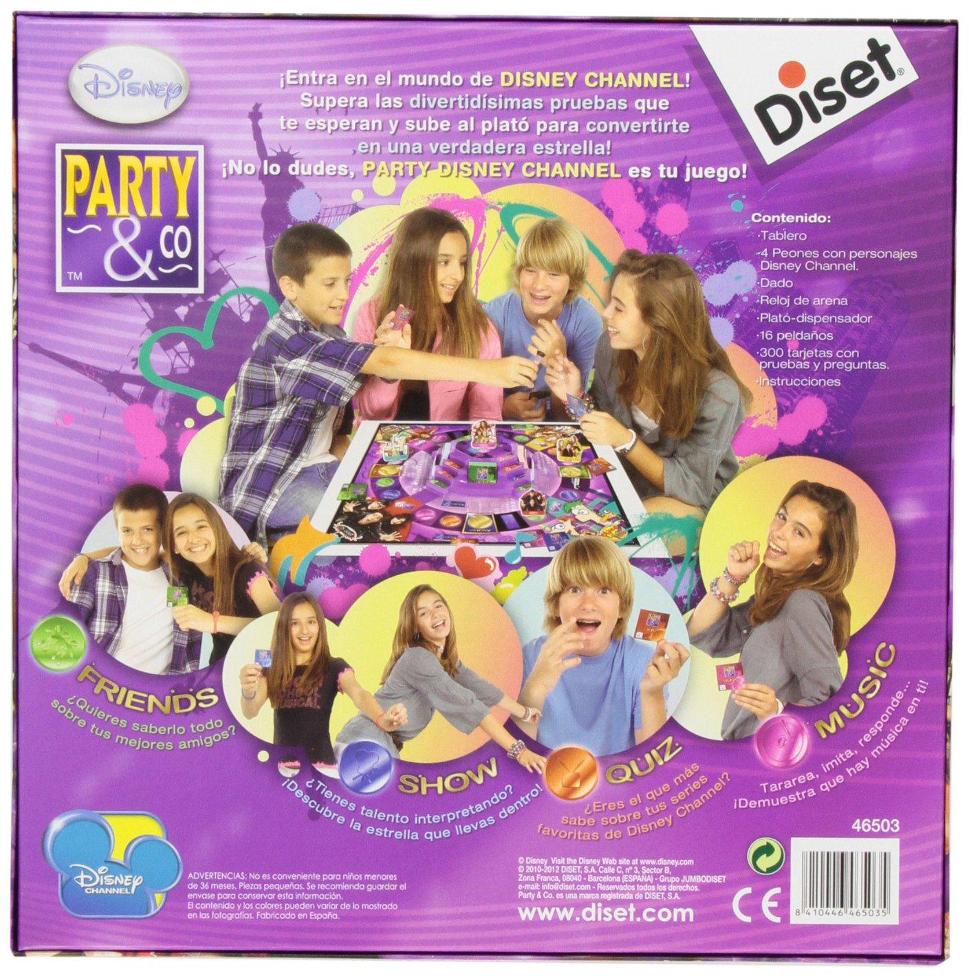 Diset Disney - Party & Co 3.0, Juego de Mesa 46503
