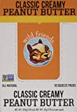 Wild Friends Foods Peanut Butter, Classic Creamy, 10 Single Serve Packets