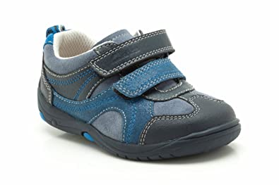 ff5e17d5b Image Unavailable. Image not available for. Colour  Clarks Boys Pre-School  Ru Rocks Fst Suede Shoes In Blue Narrow Fit Size 7.5