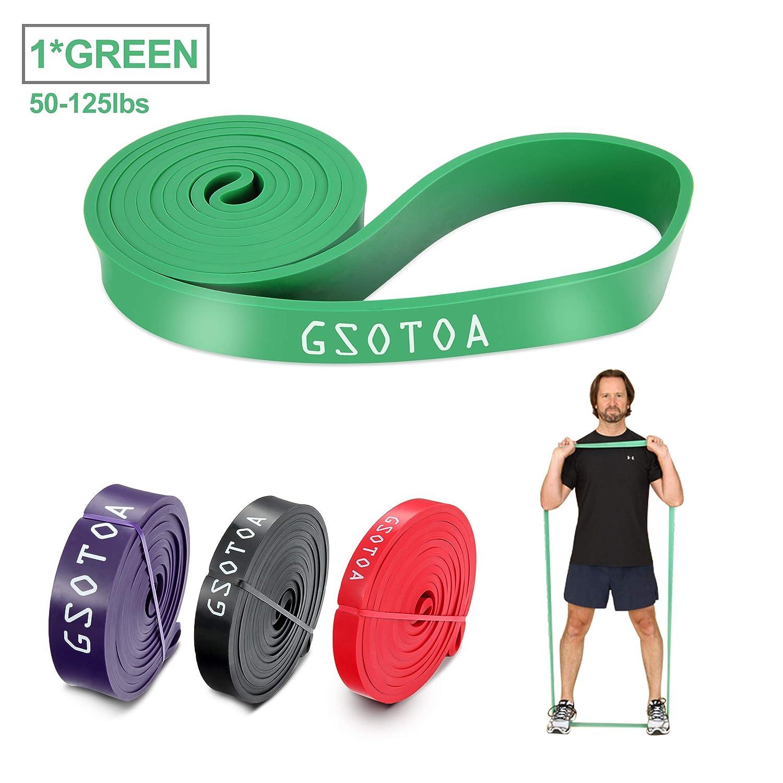 GSOTOA Fitnessbänder Gymnastikbänder, Resistance Bänder aus ...