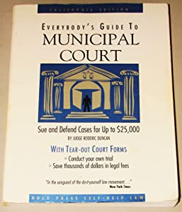Everybody's Guide to Municipal Court