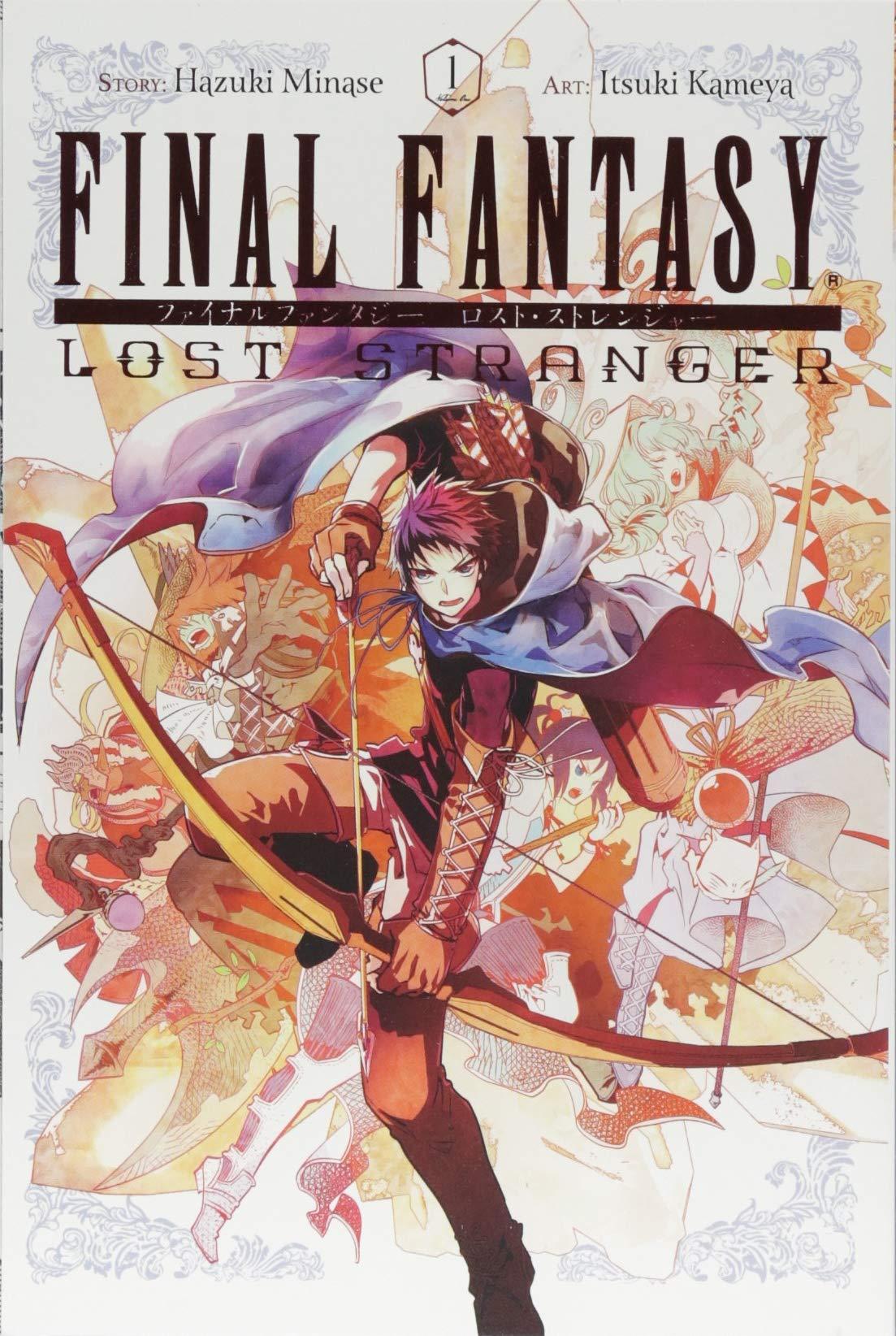 Amazon Com Final Fantasy Lost Stranger Vol 1