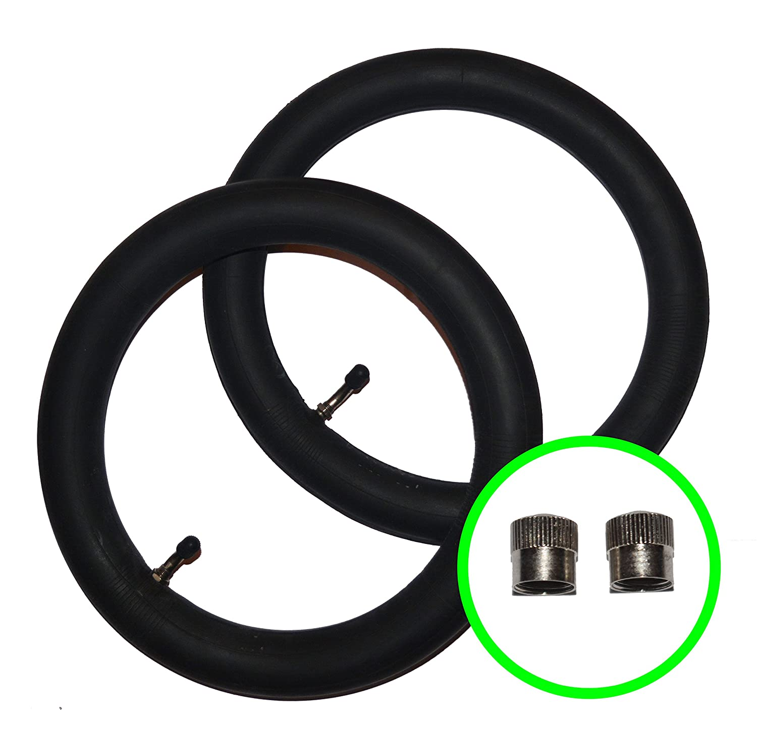 2 x iCANDY APPLE + PEACH Pushchair / Stroller Inner Tubes 12 1/2