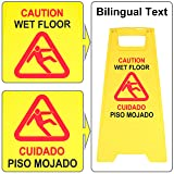 Extraordinaire Wet Floor Sign 3 Pack Caution Safety