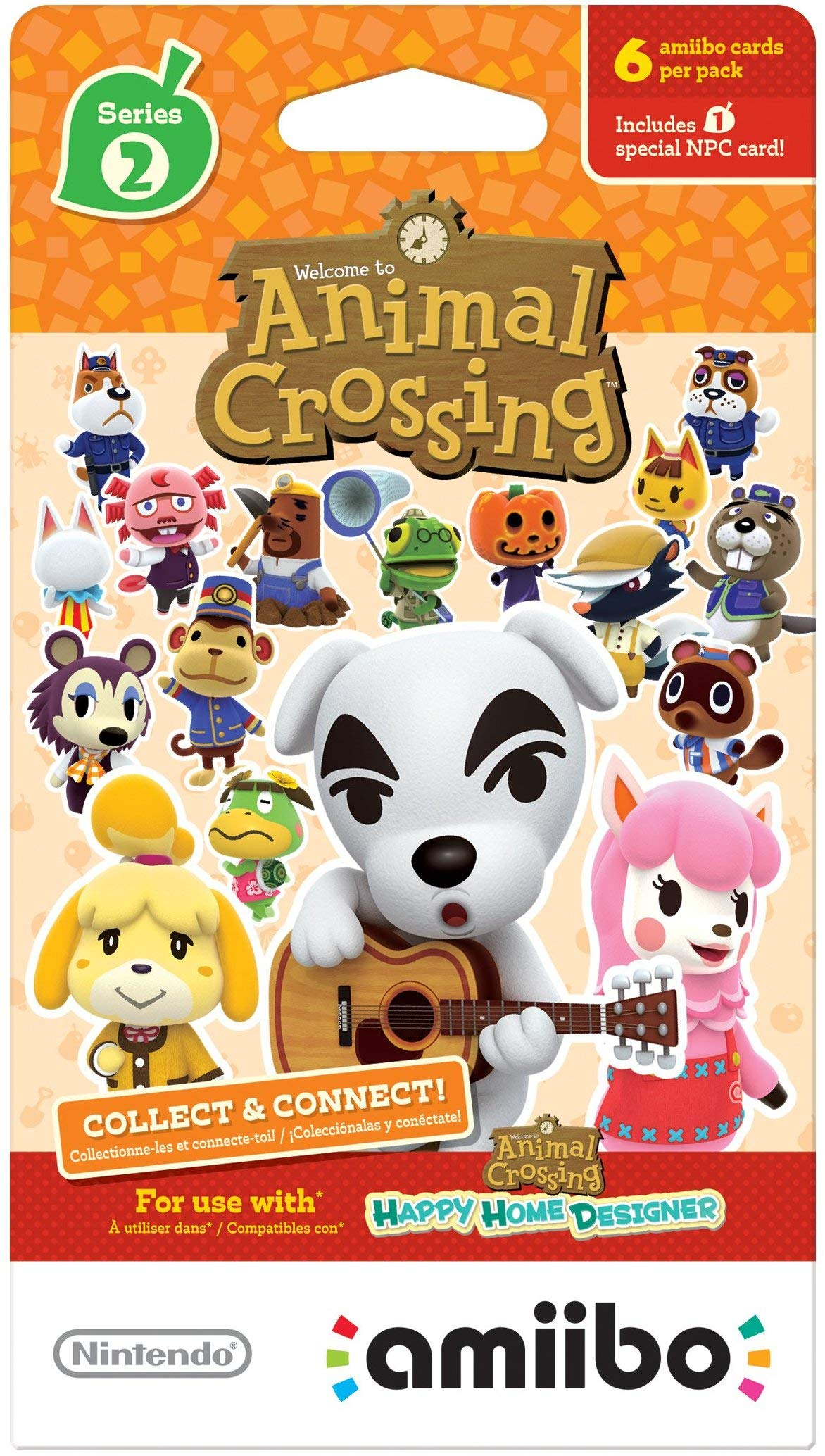 Nintendo Animal Crossing amiibo Cards Series 1, 2, 3, 4 for Nintendo Wii U and 3DS, 1-Pack (6 Cards/Pack) (Bundle) Includes 24 Cards Total by Nintendo (Image #3)