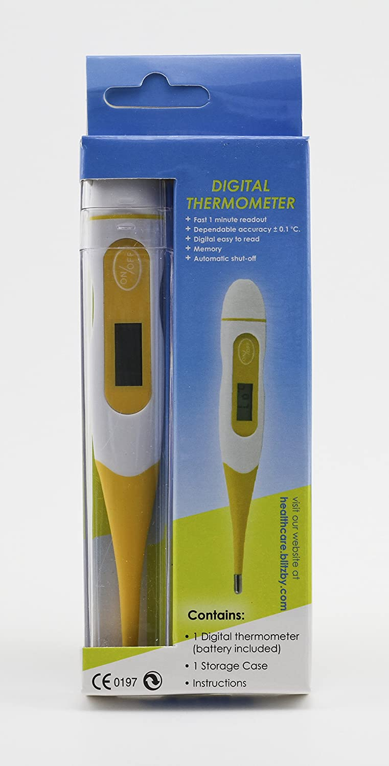 Amazon.com : Medical Digital Stick Thermometer Detects Symptoms Of ...