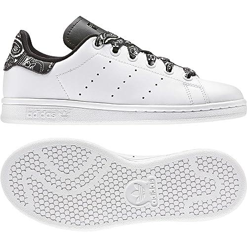 big sale 89ee8 86e77 adidas Stan Smith J CG6562, Scarpe da Ginnastica Unisex Bambini, Bianco  Ftwr White Core