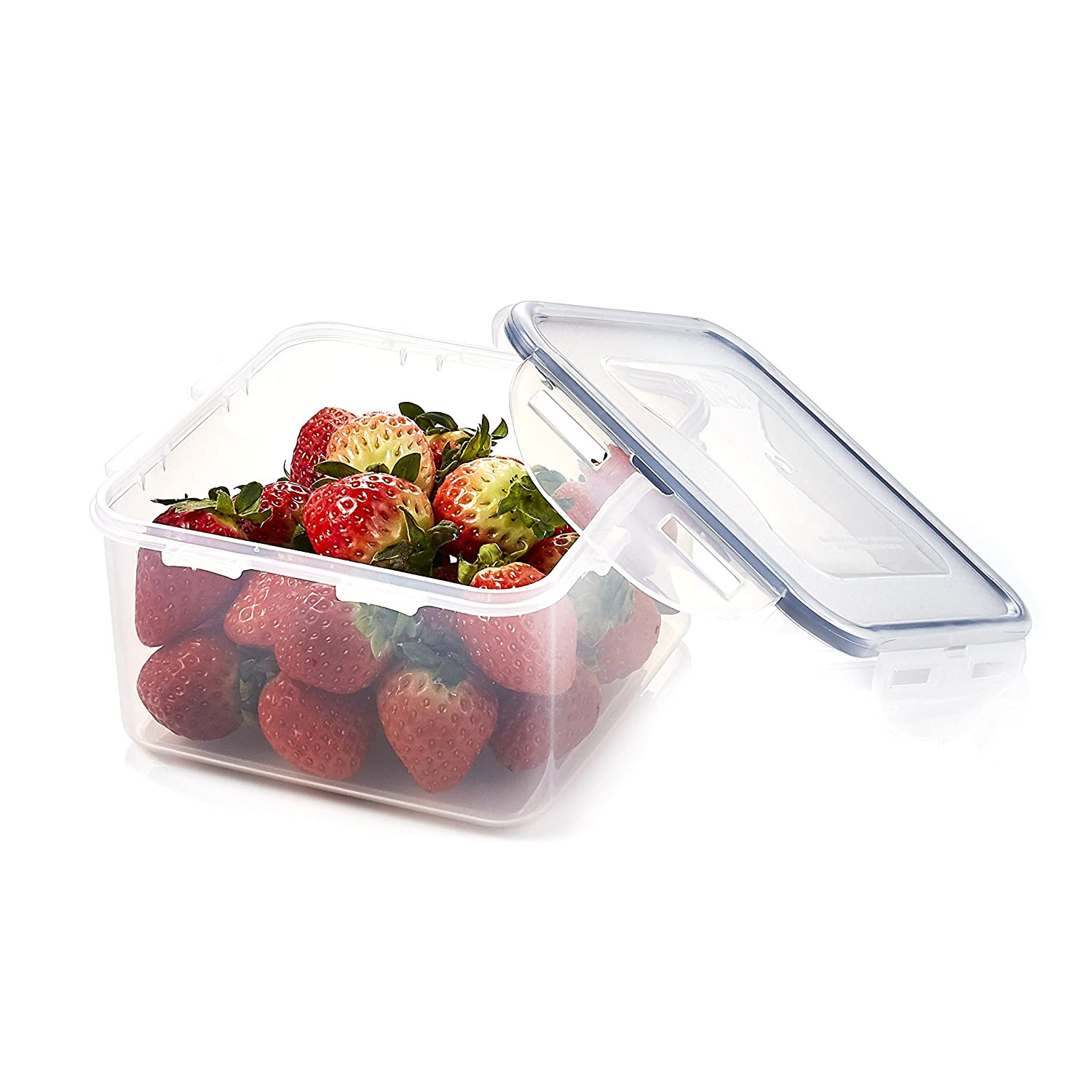 LOCK & LOCK Airtight Square Food Storage Container 40.58-oz / 5.07-cup
