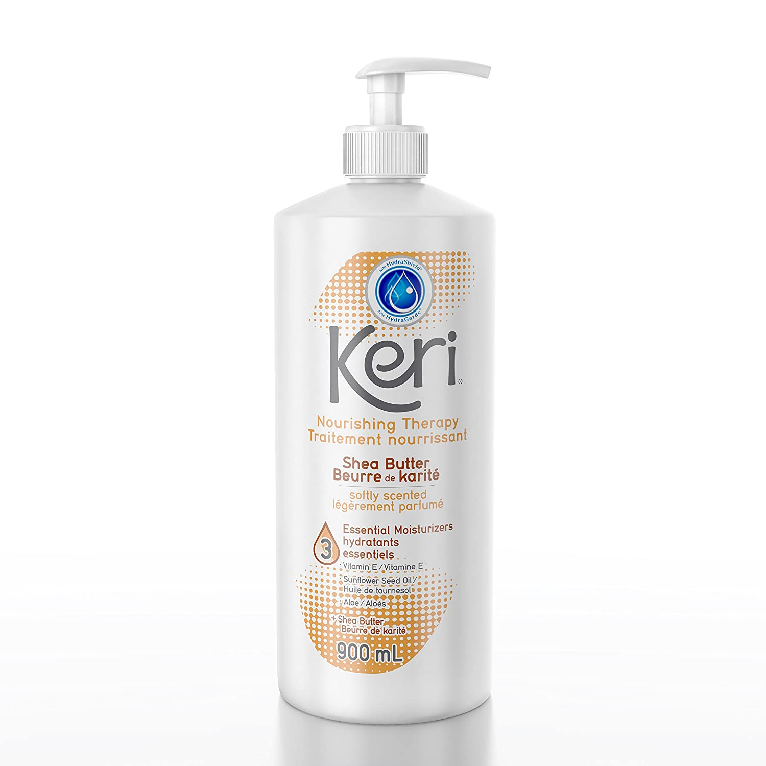 Keri moisturizing body lotion skin therapy with shea butter, 900ml GSK Consumer Healthcare