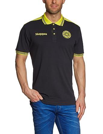 Kappa Soccer - Camiseta de fútbol sala, tamaño S, color negro
