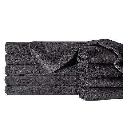 "Towels by Doctor Joe ULTRA-15BLK-10DZ Safe-2-Bleach Deep Black 16"" x 27"" Microfiber Salon Towel, (Pack of 120): Automotive"