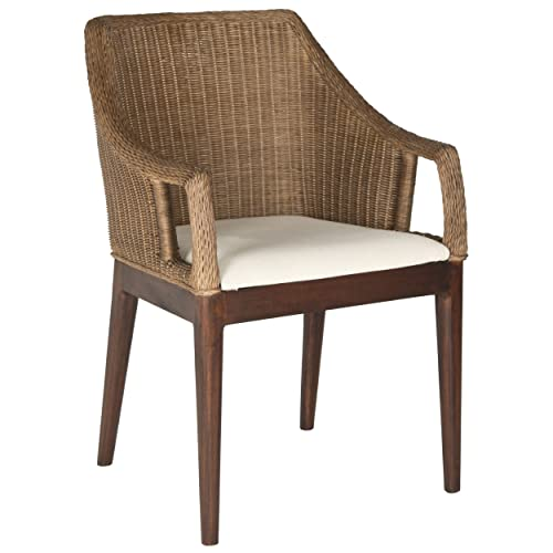Safavieh Home Collection Enrico Arm Chair, Brown