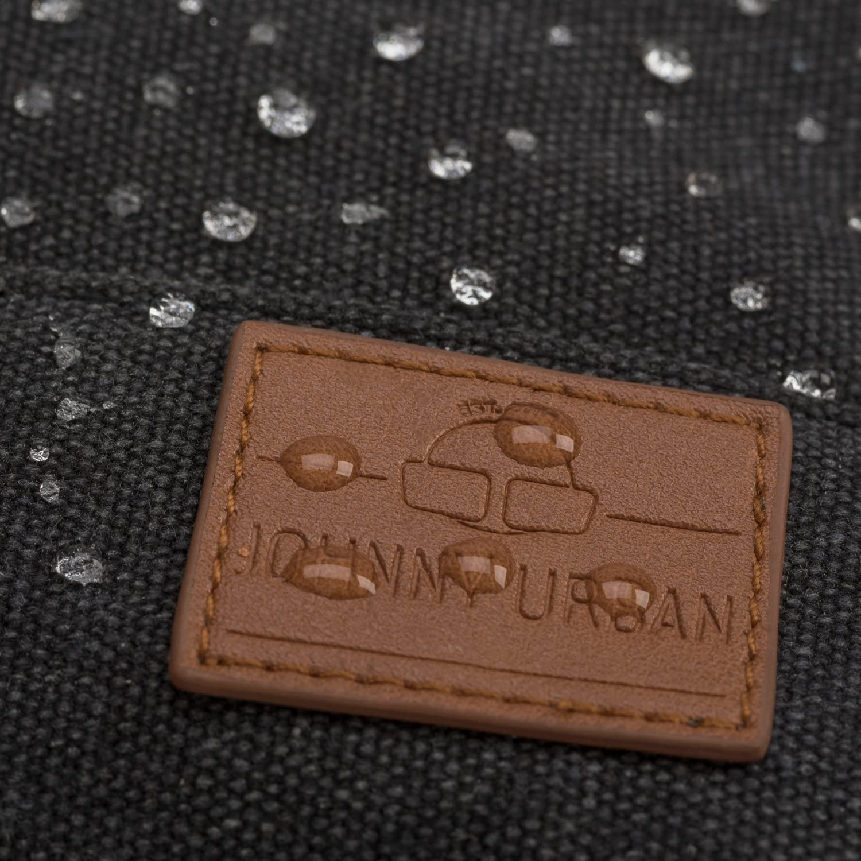 Petit Sac 7 litres Unisexe pour Homme /& Femme Daypack Durable Haute qualit/é Johnny Urban Sac /à Dos Femme Lea /à partir de Toile de Coton Imperm/éable avec Poche pour pc Portable