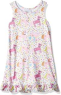 Flap Happy Baby Girls Contrast Print Tee Dress