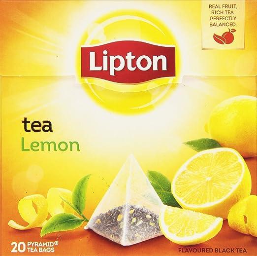 8 opinioni per Lipton- Tè al Limone- 4 confezioni da 20 filtri [80 filtri]