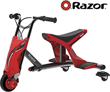 Razor Drift Rider 3-Wheeled Electric Ride-On with 3-D Steering