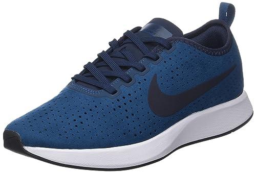 Mens Dualtone Racer PRM Gymnastics Shoes, Blue (Blue Forceobsidianwhiteblac 401), 6 UK Nike