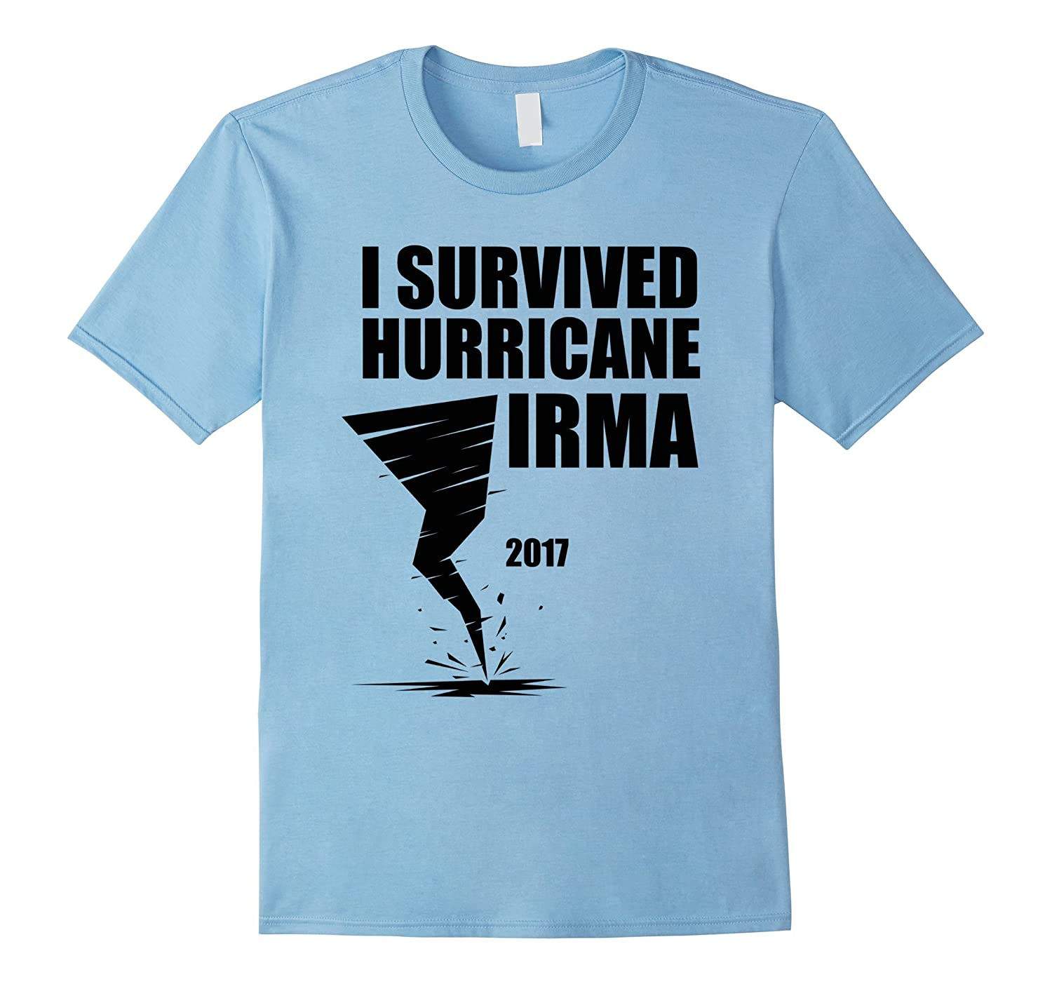 I Survived Hurricane Irma Graphic Unisex T-Shirt-FL