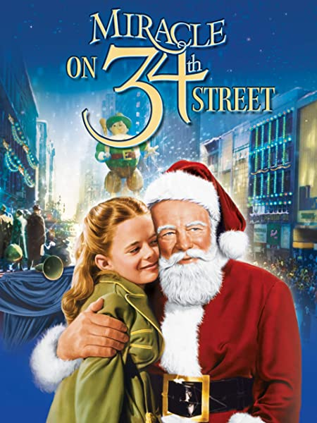 Miracle on the 34th Street -best children's christmas movies
