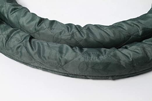 Plastiflex Vacuum Central Hose Sock Cover with Zipper Vacsoc 30FT//35FT 30, Ivory