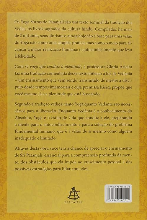 Amazon.com : O Yoga que Conduz a Plenitude. (Em Portugues do ...