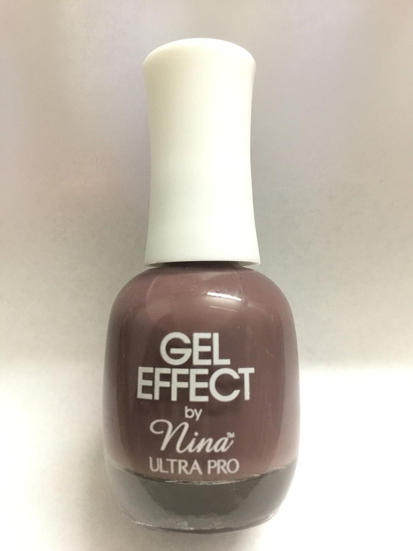 Amazon.com : Gel Effect By Nina smoky lilac #099 : Beauty