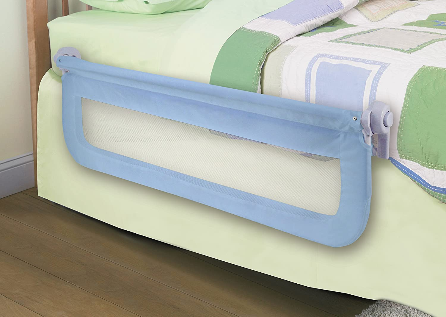 Amazon Summer Infant Sure And Secure Double Bedrail Blue Childrens Bed Safety Rails Baby