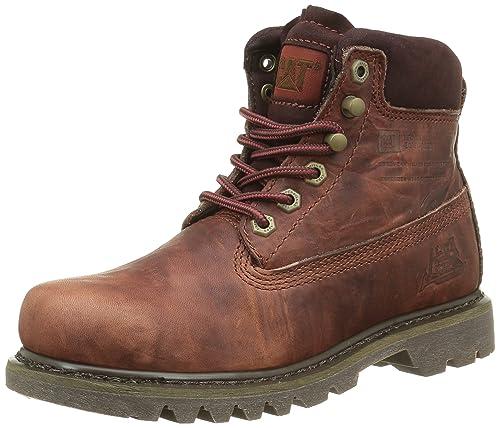 Cat Bruiser, Botines para Mujer, Marrón (Rust), 36 EU: Amazon.es: Zapatos y complementos