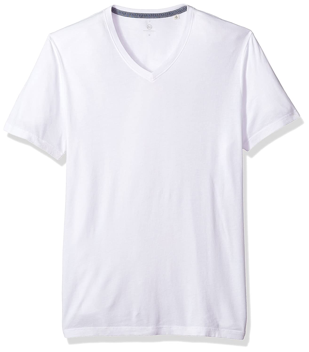 AG Adriano Goldschmied Mens Bryce Short Sleeve Vee Neck Tee