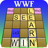 Word Solver 4 Friends Helper - Lights Up Your WWF Board With a Touchable Heat Map Showing Every Playable Word