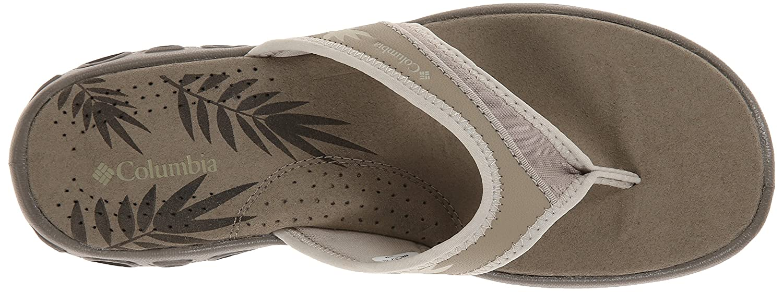 Columbia Women's Kambi Vent Sandal B00KWK4OUK 6 M US|Silver Sage, Stone
