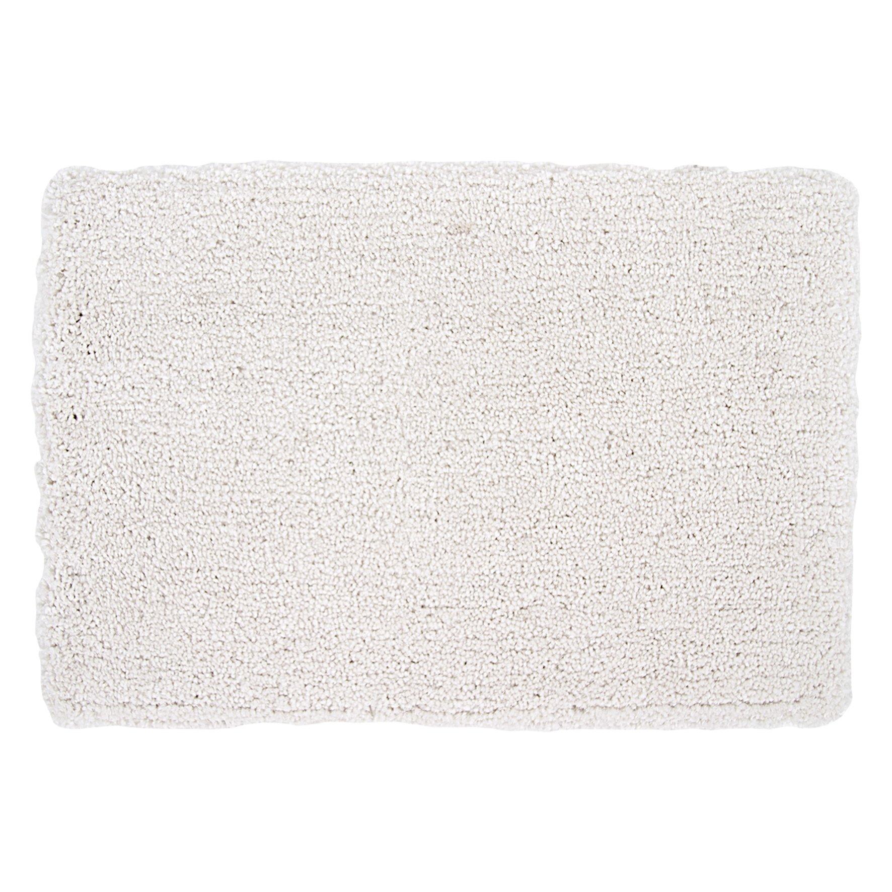DIFFERNZ 31.102.62Zara Bath Mat, White by Differnz