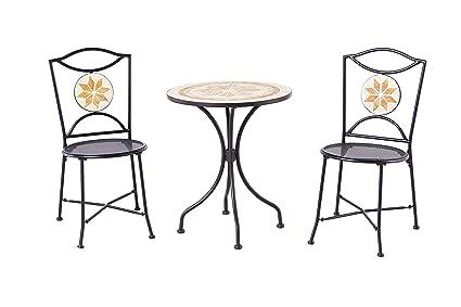 Amazon.com: Patio Classics Ashland 3 piezas Mosaico de patio ...