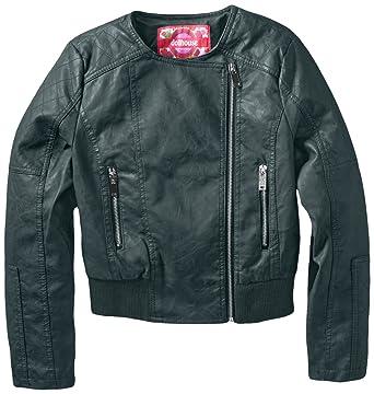 1da18be47 Amazon.com: Dollhouse Big Girls' Diamond Quilted Moto Jacket: Clothing