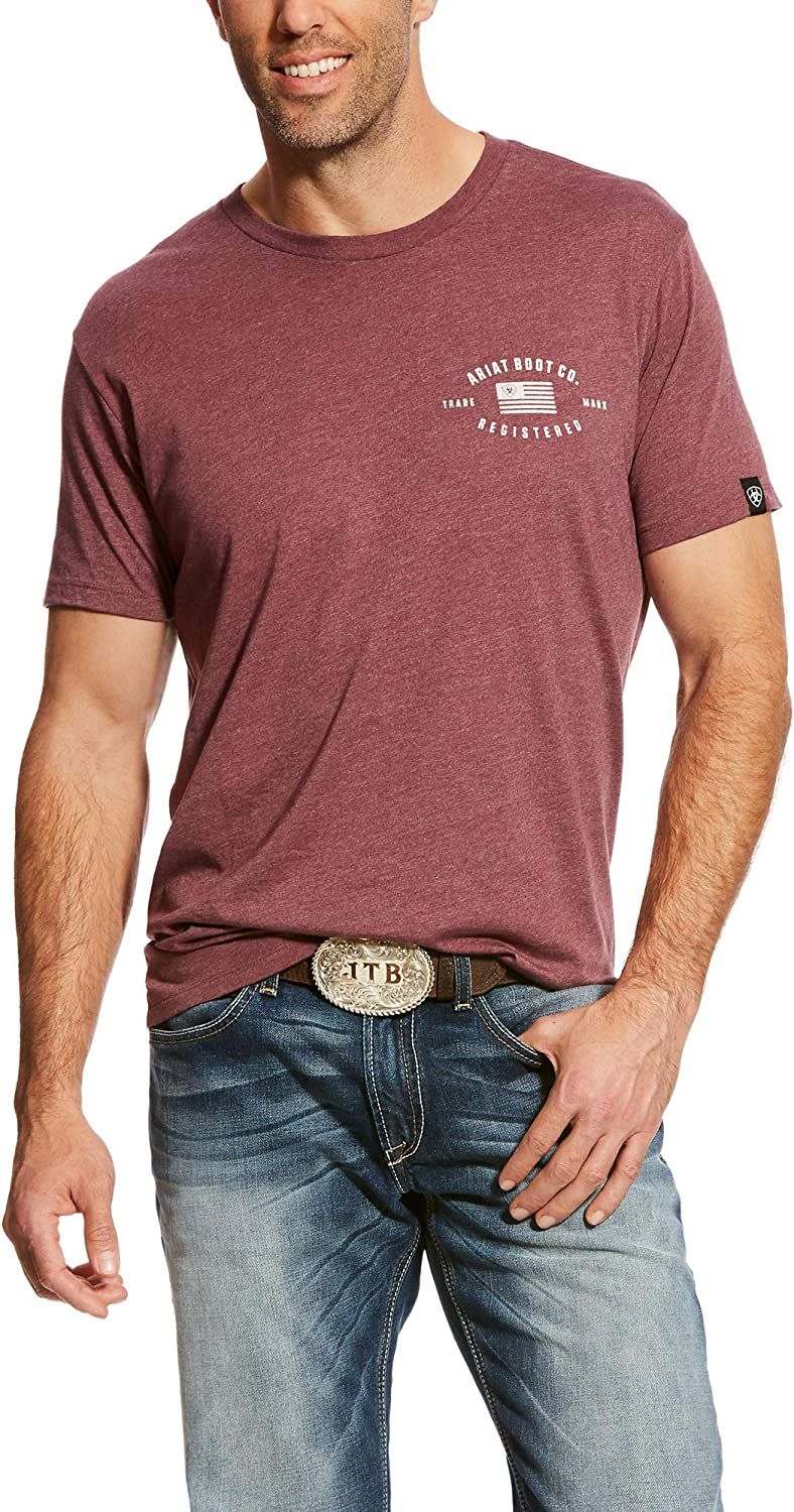 ARIAT Men's Us Registered T-Shirt