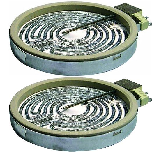 Spares2go elemento de cerámica placa calentadora para estufas ...