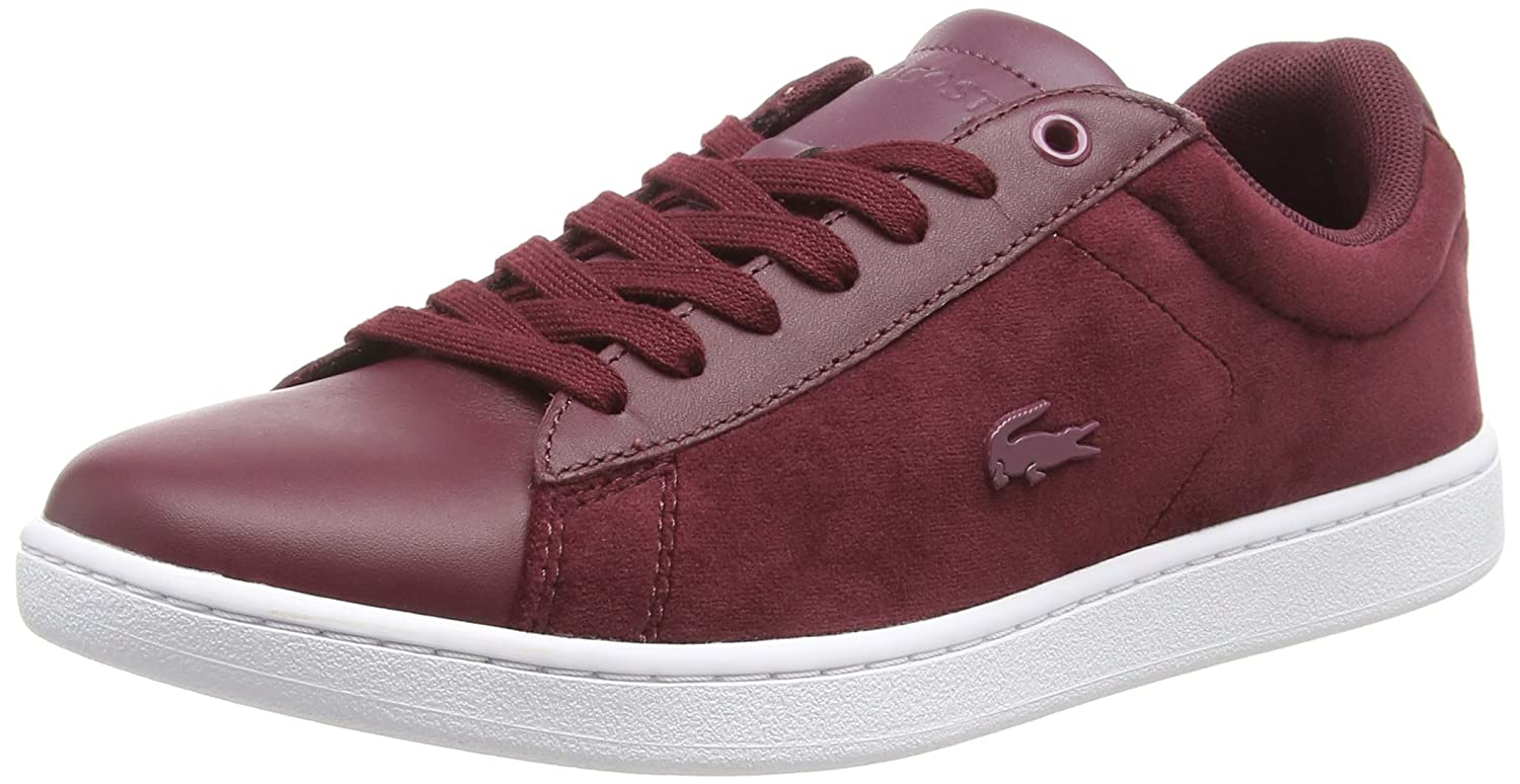 Lacoste Carnaby Evo 318 8 SPW, Baskets Baskets Femme Carnaby Rouge 19946 (Burg/Wht 2h2) 3fcc68d - avtodorozhniks.space