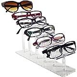 Mooca 6 Tier Acrylic Eyeglasses Frame Stand, Sunglasses Rack, Sunglasses Stand Acrylic Sunglasses Display, Sunglasses Rack Ho