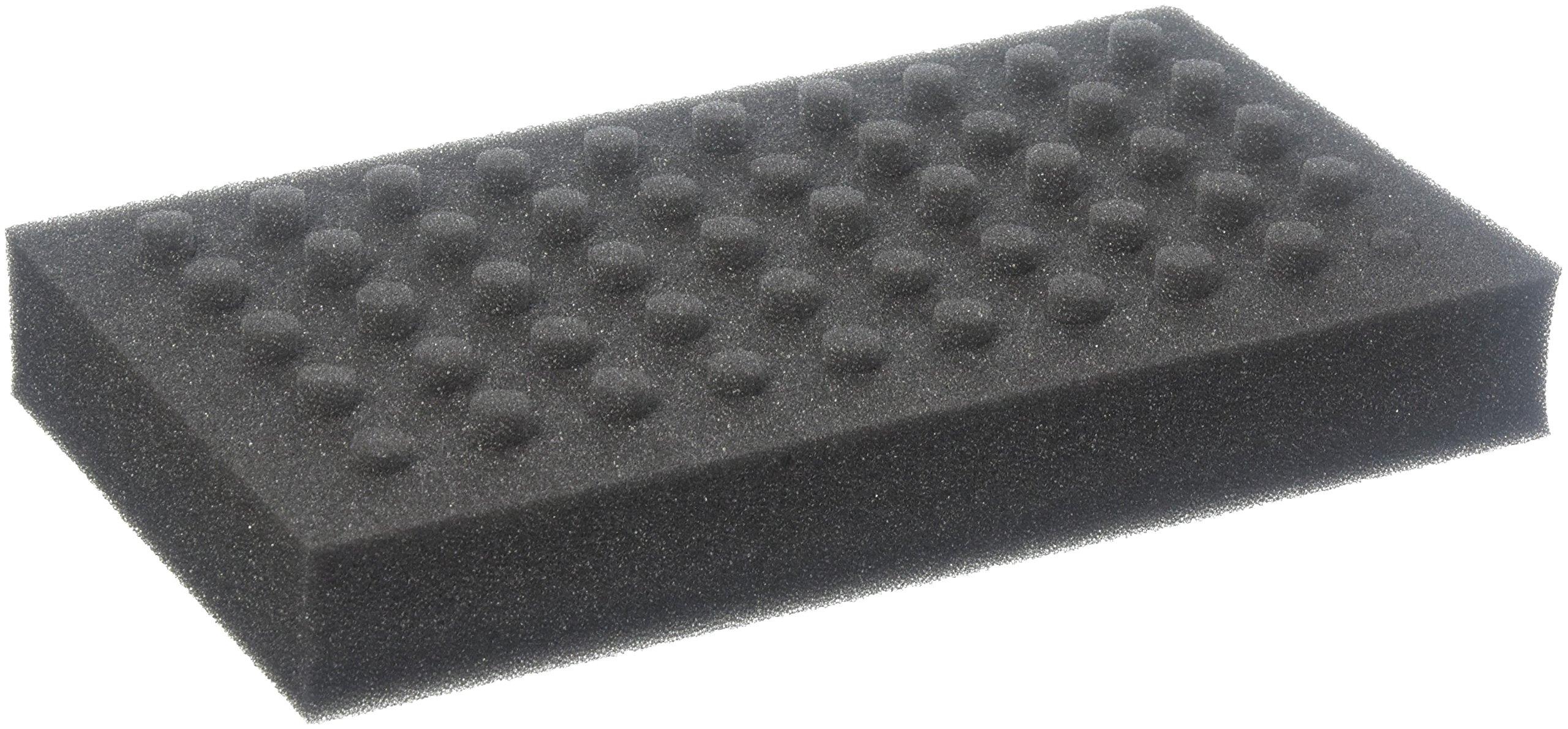 Jaece Industries FTR-100 Foam Test Tube Rack, 9'' x 5.25'' x 1.25'' Size, Small (Pack of 6)