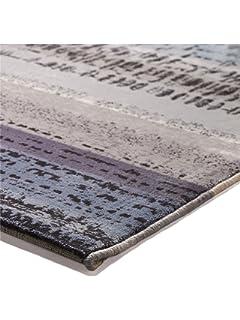 Esprit Teppiche Moderner Designer Teppich Wood Grau O 200 Cm Rund
