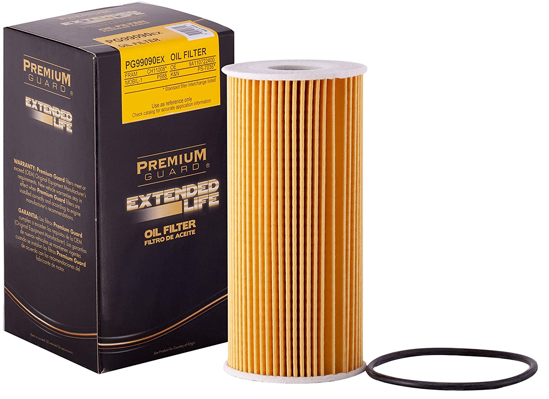 Amazon.com: Premium Guard Oil Filter, Extended Life PG99090EX   Fits 09-10  Porsche Boxster, Cayman; 09-12 Porsche Boxster, Cayman; 11-16 Porsche  Boxster; ...