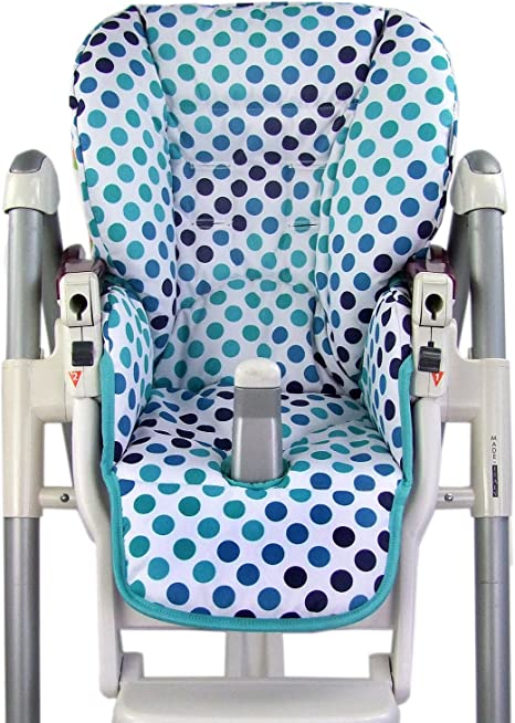 BambiniWelt Seat Cushion Replacement Cover for Peg Perego Prima Pappa Diner Stars