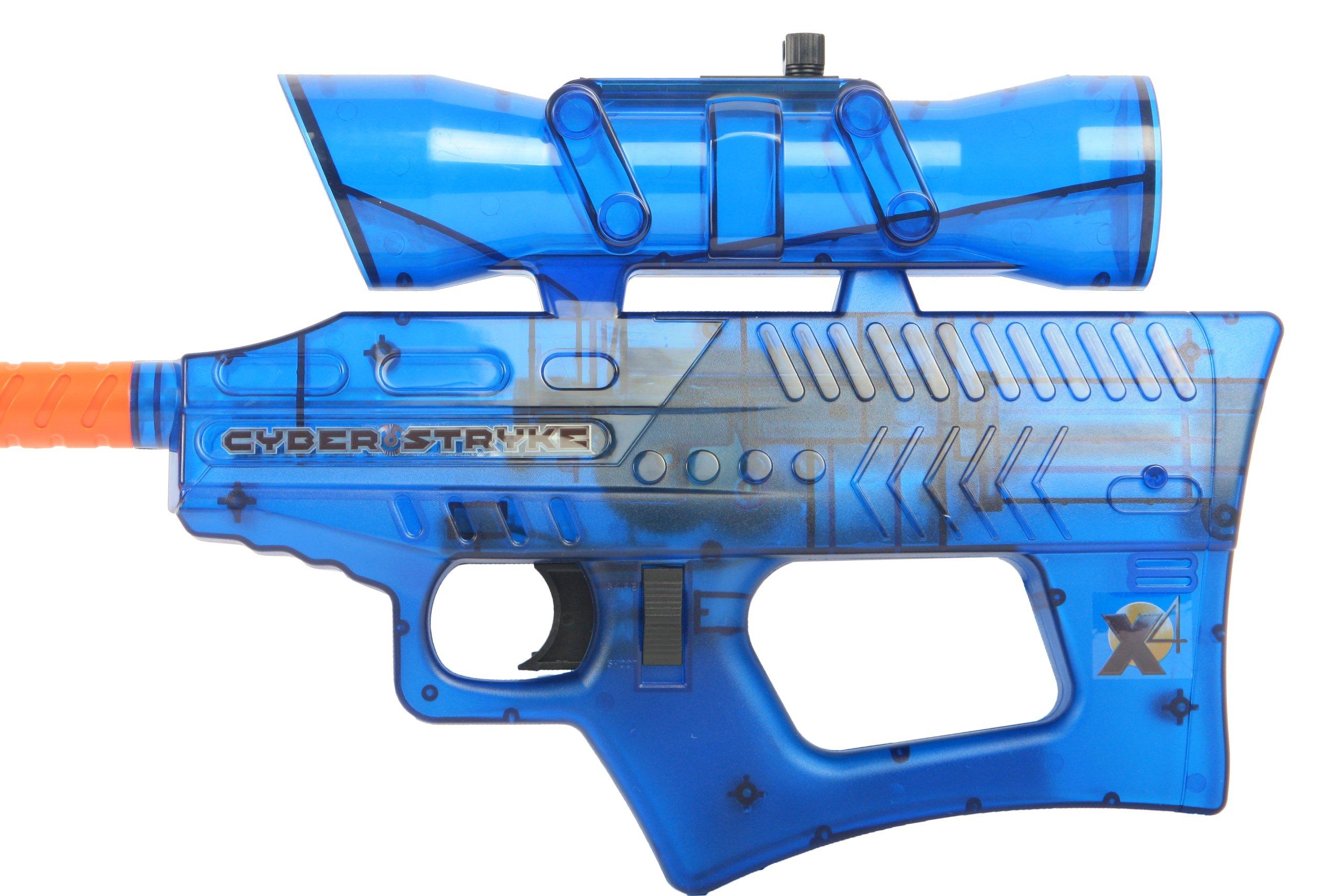 Soft Air Cyber Stryke X4 Mini Electric Airsoft Gun, Blue