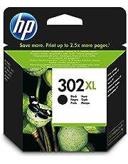 HP F6U68AE 302XL High Yield Original Ink Cartridge Black, Pack of 1