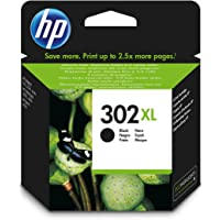 HP F6U68AE 302XL High Yield Original Ink Cartridge Black, Pack of 1